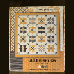 All Hallows Eve quilt kit