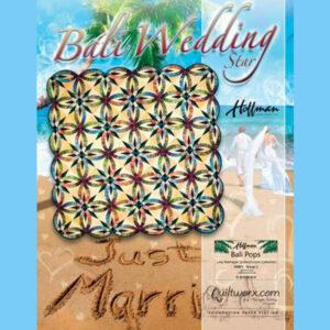 Bali Wedding Star quilt pattern